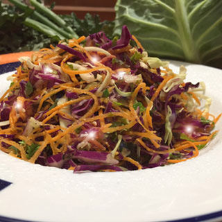 Winter Coleslaw with SPARKLE!