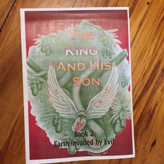 The King & His Son - Book 2 COVER Front and Back
