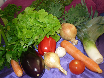 Eating many vegetables is a great choice for your health!
